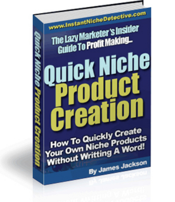 Product picture Quick Niche Product Creation
