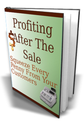 Product picture Profiting After The Sale