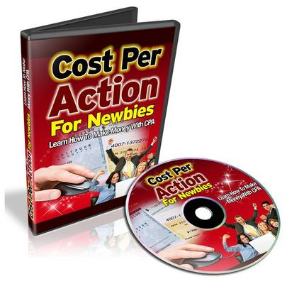 Product picture Cost Per Action For Newbies