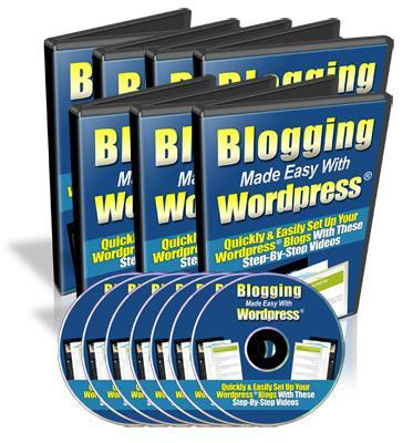 Product picture Blogging Made Easy With Wordpress